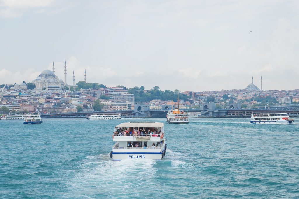 Istanbul Ferry Boat